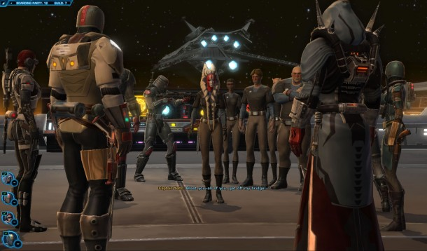 Boarding Party Screenshot