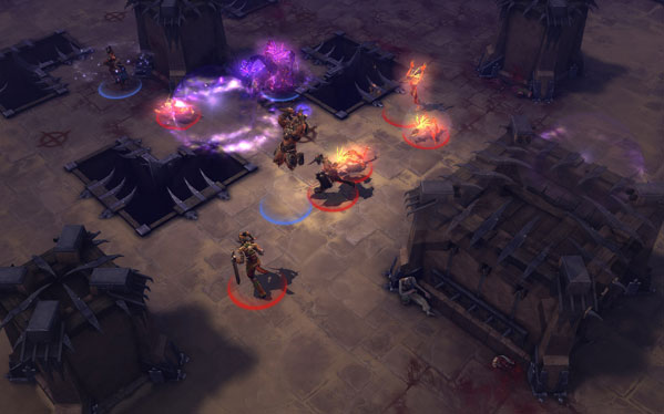 Diablo 3 PvP Arena screenshot