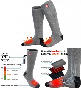 Global Vasion Electric Socks