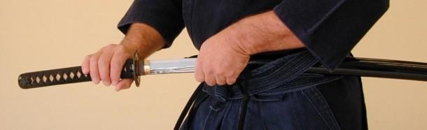 Iaido – drawing an Iaito sword